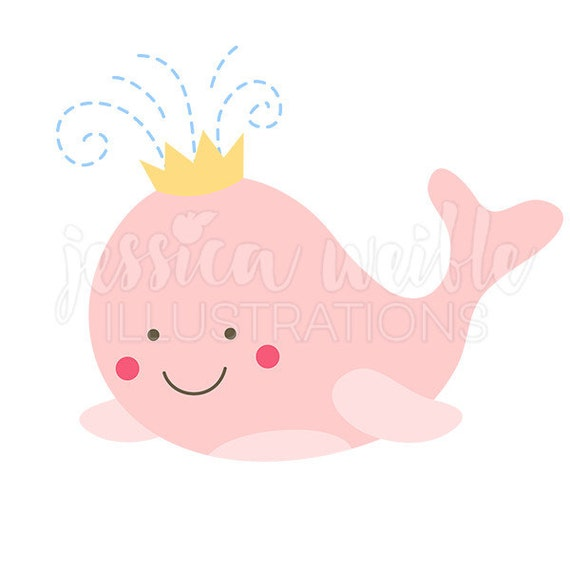 pink whale princess clip art cute digital clipart whale clip rh etsy com digital clipart for sale digital clip art free downloads